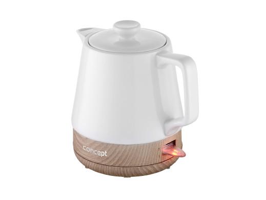 Czajnik ceramiczny 1L Concept RK0060 biały