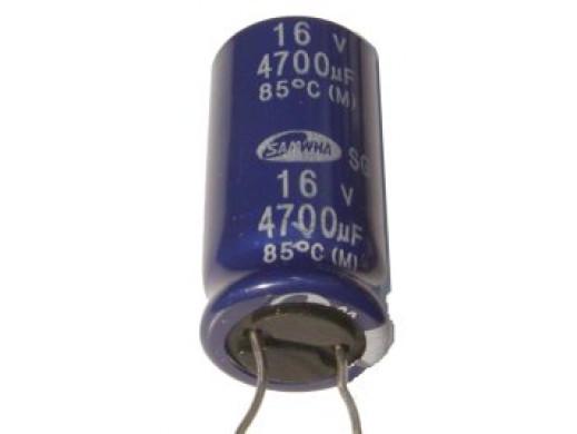 Kondensator elektrolityczny 4700uF/16V 105C