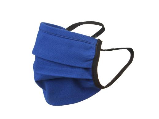 Maska dla dorosłych bawełniana dwustronna granat