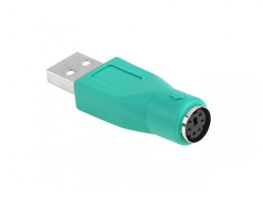 Adaptor USB wtyk A gniazdo...