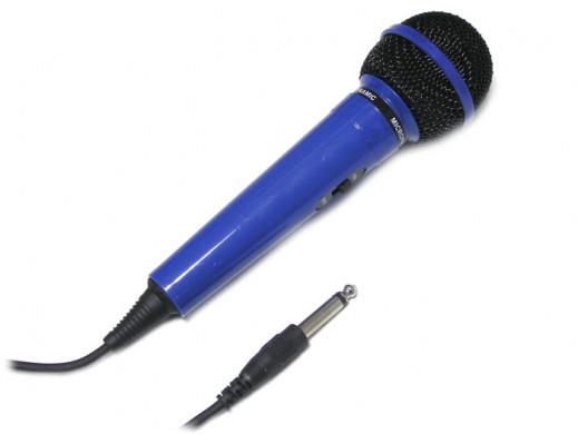 Mikrofon dynamiczny Prosonic PM-202 niebieski