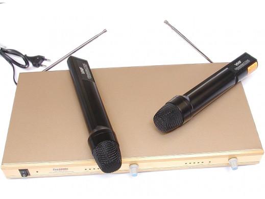 Mikrofon bezprzewodowy Prosonic PR-M-9903 zestaw 2 do ręki