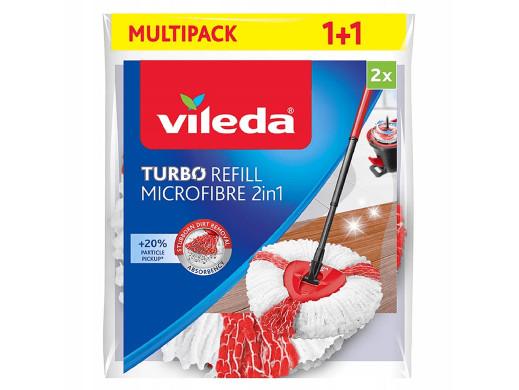 Wkłady do mopa obrotowego Vileda Turbo 2w1 (2szt)