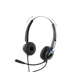 Słuchawki z mikrofonem USB...