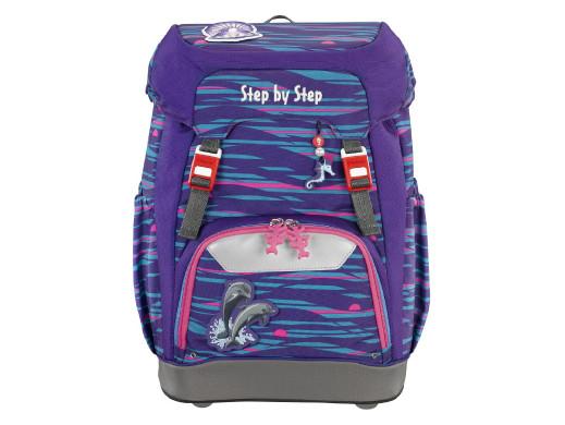Plecak szkolny Step By Step GRADE Shiny dolphins