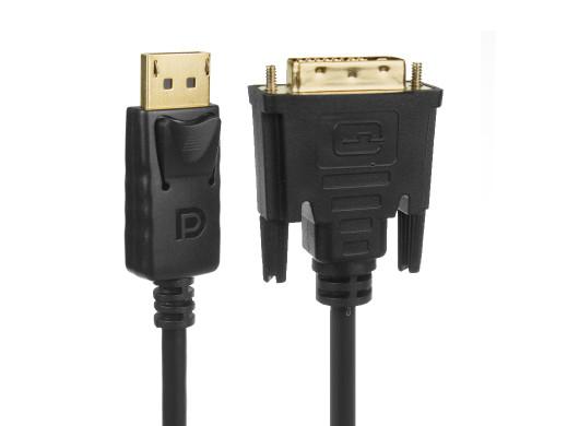 Kabel Maclean, Display, Port (DP) - DVI, 4K/30Hz, 1.8m, MCTV-715