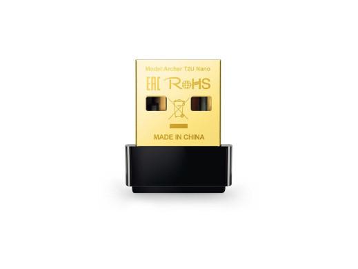 Karta USB Wifi Archer T2U dualband AC600 2,4GHz i 5GHz nano Tp-Link