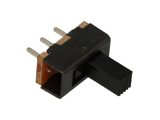 Przełącznik suwakowy 2 pozycje 3pin SS02-12F20 ON-ON do druku długość 11,5mm szerokość 5,9mm wysokość 16mm
