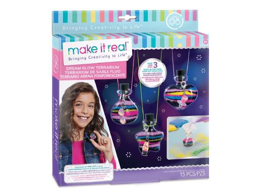 Make it real - Zestaw do tworzenia naszyjników świecących w ciemności