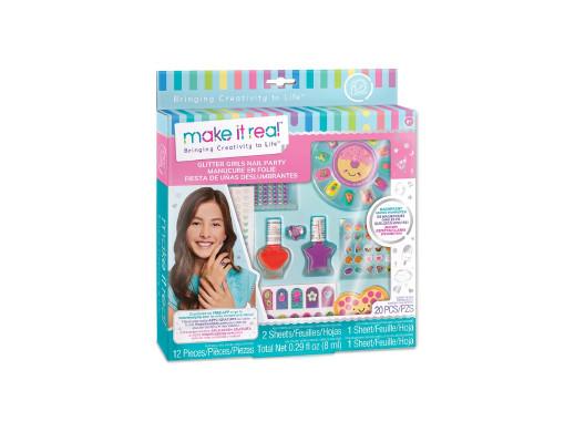 Make it real - Zestaw do manicure Glitter Girl Party