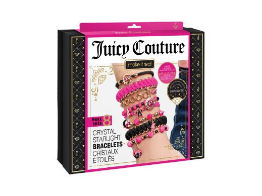 Make it real - Zestaw do tworzenia bransoletek - Juicy Couture x Swarovski