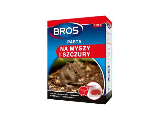 Pasta na myszy i szczury Bros 150g
