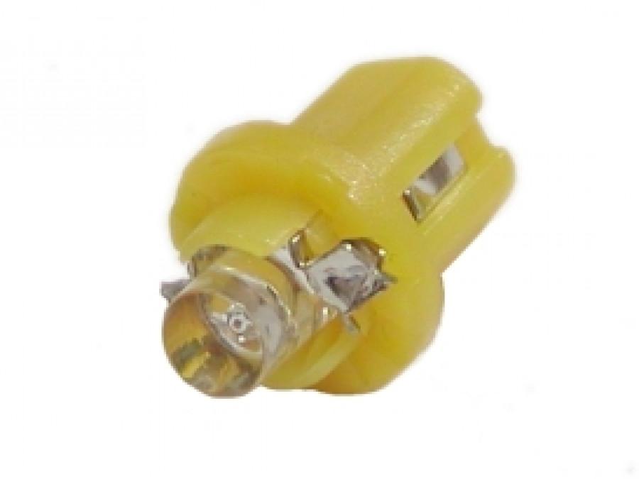 DIODA LED samochodowa 5mm ŻÓŁTA W OPRAWCE