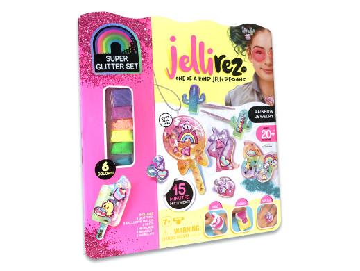 Zestaw kreatora do tworzenia biżuterii Jelli Rez Rainbow Jewelry