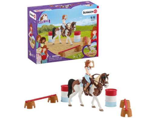 Zestaw jeździecki Schleich Hannah Horse Club 42441