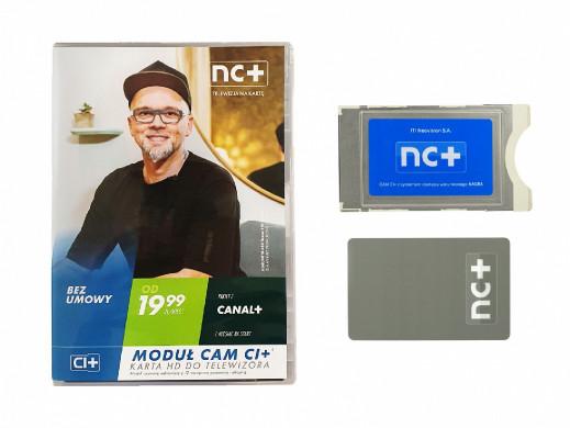Usługa NC+ z pakietem start +1m Cam CI+ nagra
