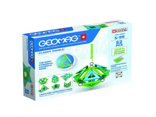 Klocki magnetyczne Geomag Eco Panels 52el. GEO-471