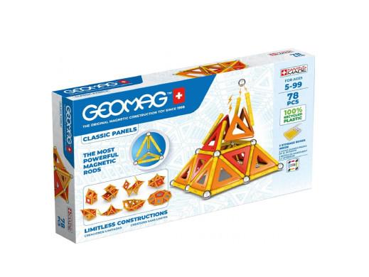 Klocki magnetyczne Geomag Eco Panels 78el. GEO-472