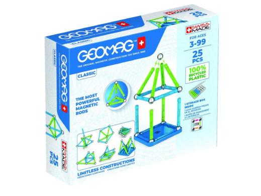 Klocki magnetyczne Geomag Eco Color 25el. GEO-275