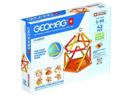Klocki magnetyczne Geomag Eco Color 42el. GEO-271