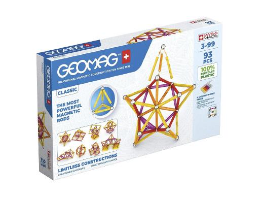 Klocki magnetyczne Geomag Eco Color 93el. GEO-273