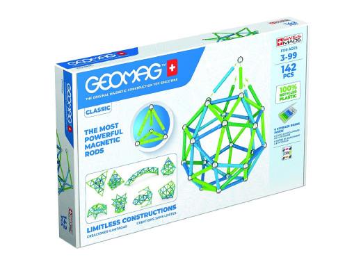 Klocki magnetyczne Geomag Eco Color 142el. GEO-274