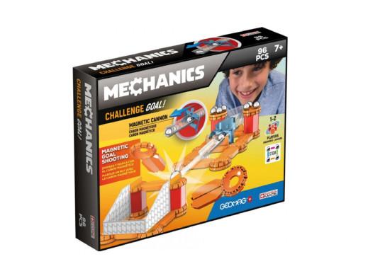 Klocki magnetyczne Geomag Mechanics Challenge Goal 96el. GEO-769