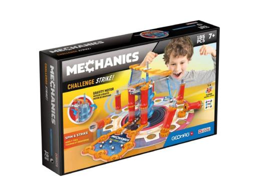 Klocki magnetyczne Geomag Mechanics Challenge Strike 185el. GEO-777