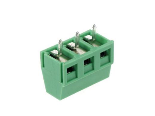 Złącze ARK 3 pin 5mm zielone