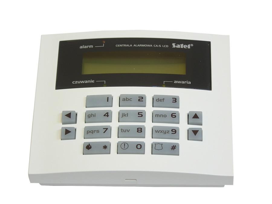 MANIPULATOR LCD CA5 SATEL NIEBIESKI