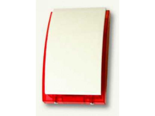Sygnalizator SP-4001 optyczno akustyczny czerwony Satel