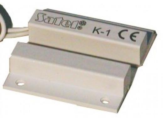 Czujka kontaktron K-1 boczna biała