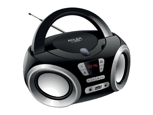 Boombox CD-MP3, USB, Radio Adler AD 1181