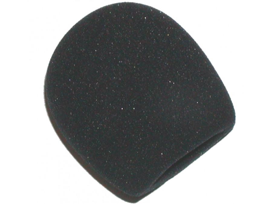 Gąbka na główkę mikrofonu, owiewka czarna