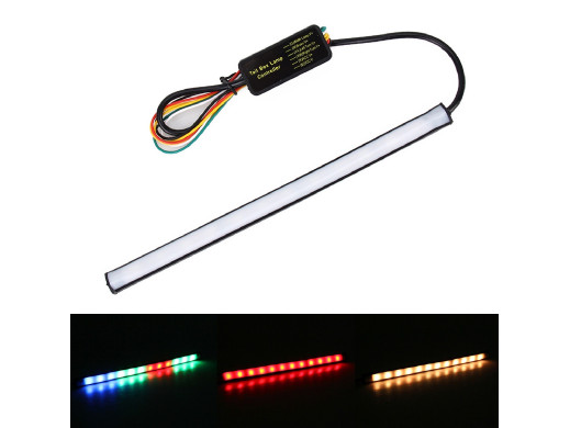 Listwa LED 12V 1,3W 225mm RGB