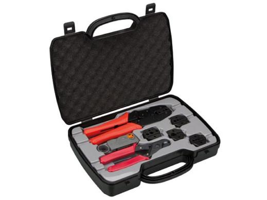 Zestaw 8 elementów narzędzi do kabli koncentrycznych Vtbncs Velleman