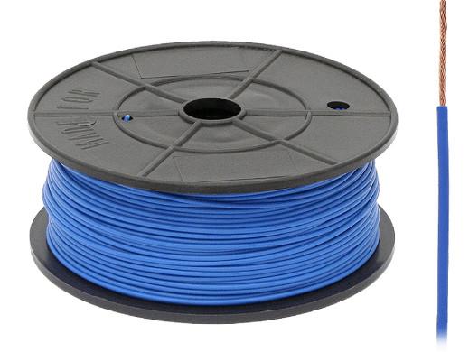 Kabel pojedyńczy 0,75mm FLRY niebieski