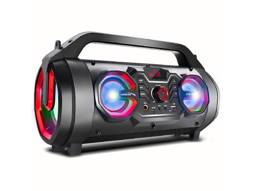 Głośnik przenośny bazooka Audiocore, bluetooth 5.0, radio FM, karta micro, SDIPX4, 2000mAh, AC875