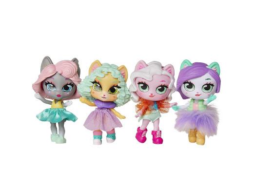 Laleczka z akcesoria Kitten Catfe Purrista Girls mix