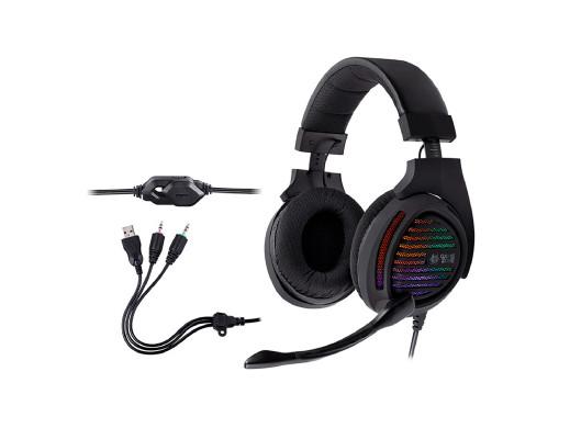 Słuchawki TRACER GAMEZONE Aligator RGB rainbow LED
