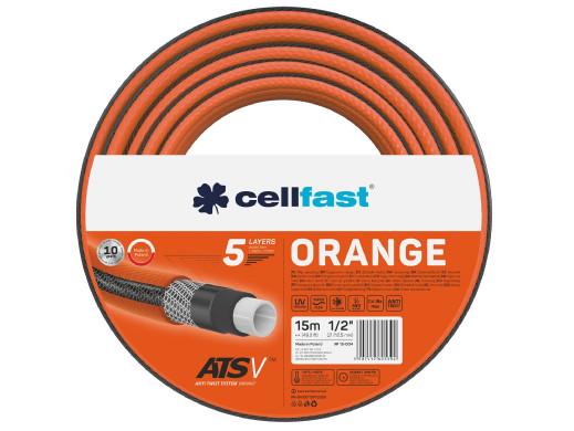 """Wąż ogrodowy Cellfast Orange ATSV 1/2"""" 15m"""