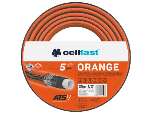 """Wąż ogrodowy Cellfast Orange ATSV 1/2"""" 25m"""