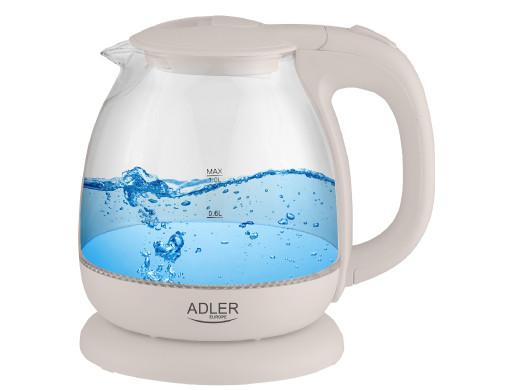 Adler AD 1283C Czajnik szklany 1,0L