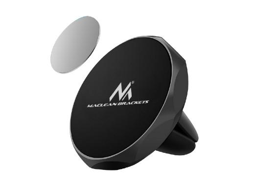 Samochodowy uchwyt do telefonu Maclean, uniwersalny, do kratki wenylacyjnej, magnetyczny, MC-323