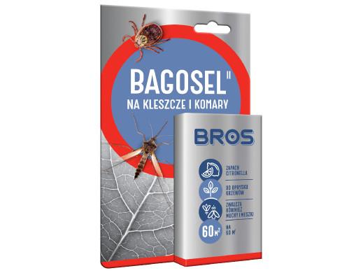 Preparat do oprysku ogrodu przeciw komarom i kleszczom Bros Bagosel 100EC 30ml