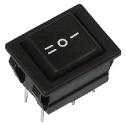 Przełącznik klawiszowy 3 pozycje 6 PIN 220V chwilowy szeroki