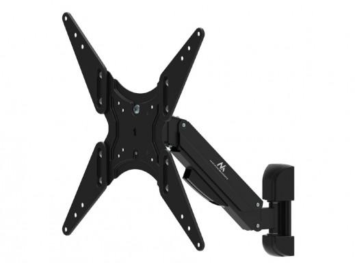 """Uchwyt na TV czarny Maclean MC-785 gazowa sprężyna 32""""-55"""" 22kg POSERWISOWY Zarysowania i zatarcia warstwy lakierniczej."""
