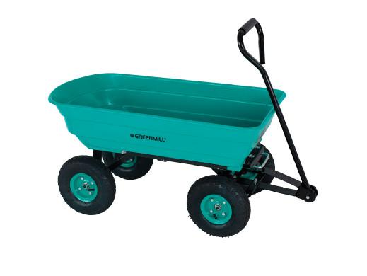 Wózek ogrodowy ręczny wywrotka 75l Greenmill GR9380
