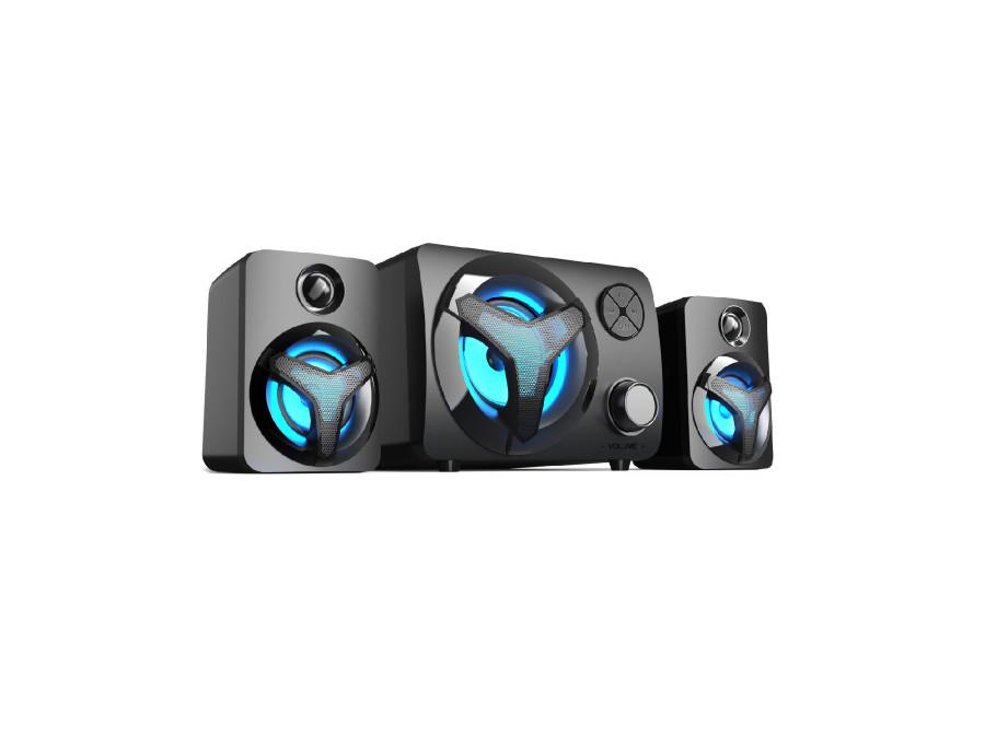 Zestaw głośników 2.1 z BT i RGB LED Vakoss SP-3140BK