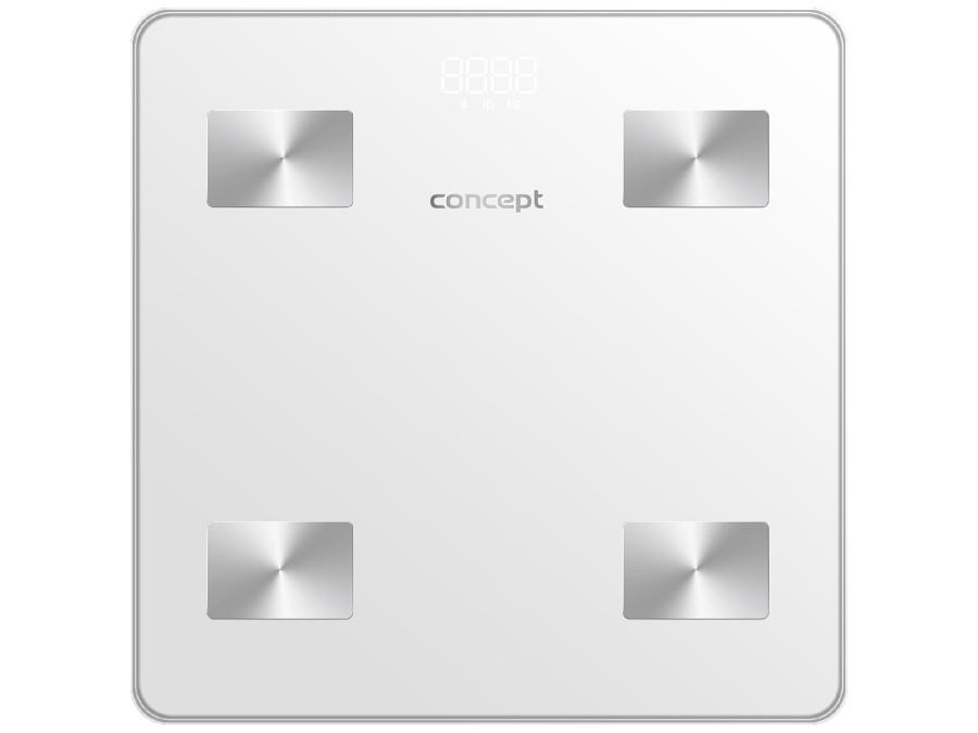 Waga łazienkowa diagnostyczna Concept biała VO4000
